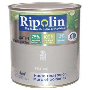 Ripolin Peinture murs et boiseries Esprit Déco satin 0,5 litre