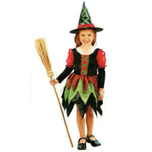 Déguisement sorcière des bois fille