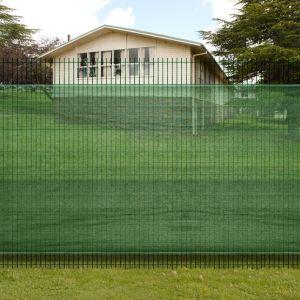 VidaXL 140377 - Brise vue pour clôture verte 1 x 3 m