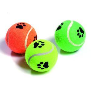 Karlie Balle de tennis avec motifs pour chien