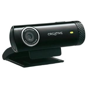 Creative Live! Cam Chat HD - Webcam USB 2.0 5.7 mégapixels