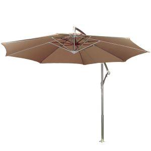 Parasol déporté rond Ø 300 cm
