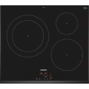Siemens EH651BJB1E - Table de cuisson induction 3 foyers