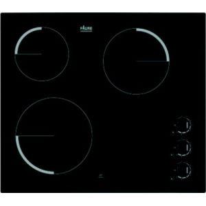 Faure FEV6131FBA - Table de cuisson vitrocéramique 3 foyers
