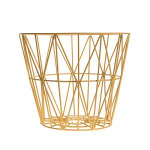 Ferm Living Corbeille à papier Wire taille L (45 x 60 cm)