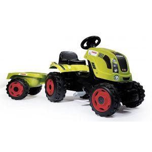 Smoby Tracteur Farmer XL Claas + remorque