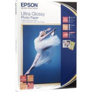 Epson C13S041944 - 50 feuilles de papier photo Ultra Glossy 300g/m² (13 x 18 cm)