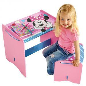 Worlds Apart Bureau et tabouret Minnie Mouse pour enfant