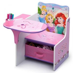 Delta Children Chaise bureau pour fille Dissey Princesses
