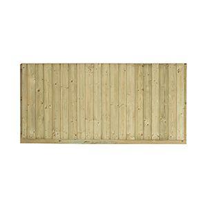 Blooma Panneau en bois antibruit Oza l.180 x h.90 cm