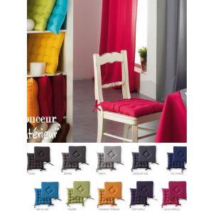 galette de chaise today comparer 27 offres. Black Bedroom Furniture Sets. Home Design Ideas
