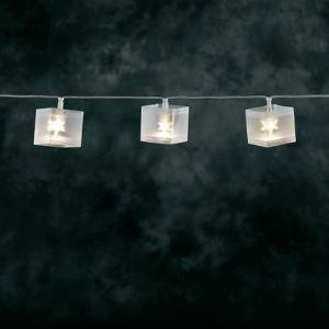 Konstsmide Guirlande de 10 cubes LED (6.35 m)