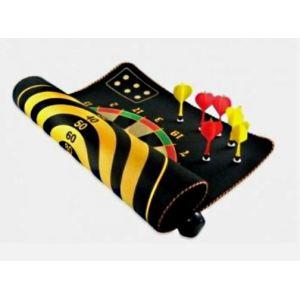 Mister Gadget Cible magnétique réversible avec 3 fléchettes