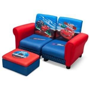 Delta Children Sofa et pouf Disney Cars