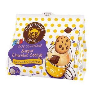 Columbus Dosettes souples Saveur Chocolat Cookie x10