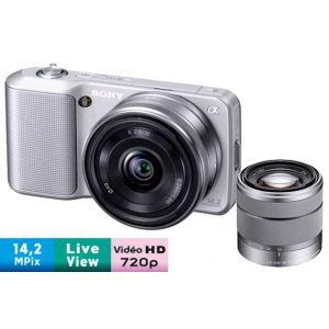 Sony Alpha NEX-3D (avec 2 objectifs 16mm et 18-55mm)