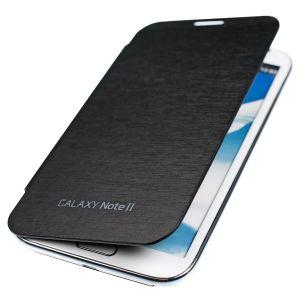 Kwmobile 13524 - Étui de protection à rabat pour Galaxy Note 2 + film de protection