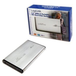 """Logilink UA0040A - Boîtier externe pour disque dur 2.5"""" IDE vers USB 2.0"""