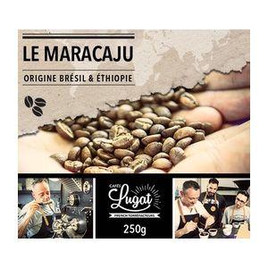 Cafés Lugat Café en grains : Le Maracaju (anciennement Santa Claus) - Mélange Gourmand - 1Kg