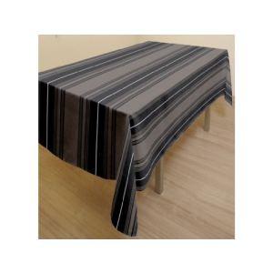 Soleil d'Ocre Kent - Nappe rectangle anti-tache en coton recyclé (140 x 240 cm)