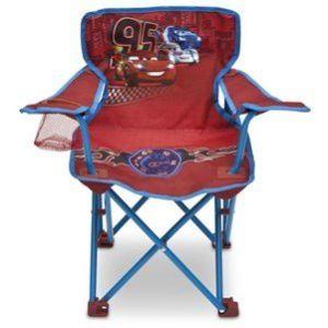 Delta Children Chaise de camping Disney Cars