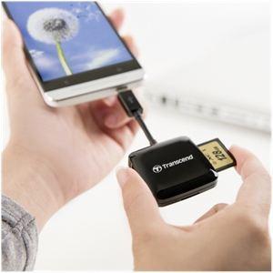 Transcend TS-RDP9K - Lecteur de cartes mémoire USB