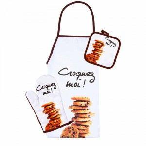 Tablier avec gant et manique Cookies