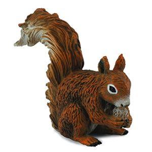 Collecta Figurine animauxdelaforêt : Ecureuilrouxmangeant