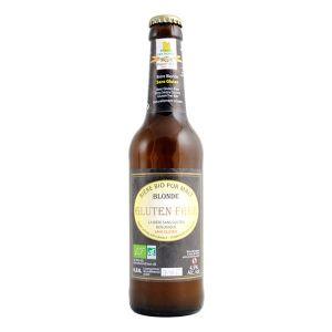 Moulin des moines Bière Blonde Gluten Free BIO 33cl