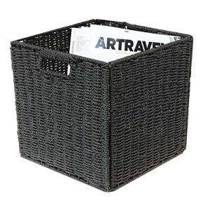 Box and beyond 31631 - Panier de rangement en jonc de mer (31 x 31 x 31 cm)