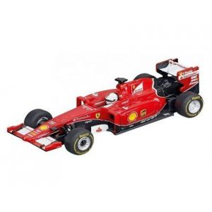 Carrera Toys 64056 - Ferrari SF15-T S.Vettel No.5 pour circuit GO!!!
