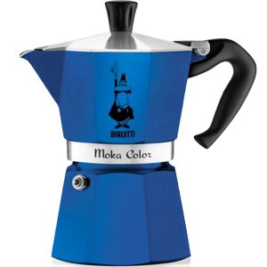 Bialetti Moka Color 6 tasses - Cafetière italienne