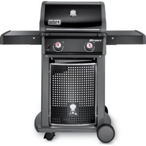 Weber Spirit Classix E210 - Barbecue à gaz 2 brûleurs avec tablettes latérales
