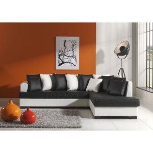 Canapé d'angle fixe droit Bora