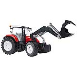 Bruder Toys 3091 - Tracteur avec chargeur frontal Steyr CVT 6230 - Echelle 1:16