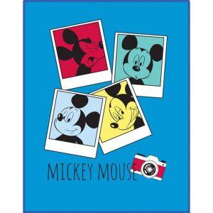 Cti Plaid polaire photomaton Mickey Mouse (110 x 140 cm)