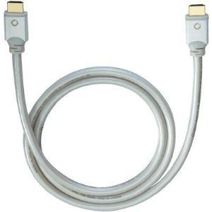 Oehlbach Câble HDMI avec Ethernet Magique 0,75 m