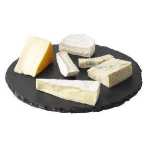 Boska Plateau tournant Lazy Susan en ardoise pour vos apéritifs ou fromage