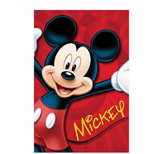 Plaid polaire pour enfant Mickey Mouse (100 x 150 cm)