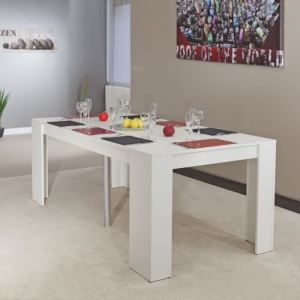 Table console extensible Sobrio