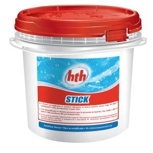 hth Chlore Stick 300 g non stabilisé - 4,50 kg