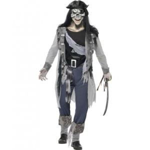 Déguisement fantôme pirate homme Halloween (taille M)