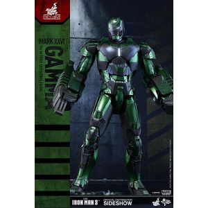 Hot Toys Figurine Marvel Iron Man 3 Party Protocol Iron Man Mark XXVI Gamma 1:6 Scale