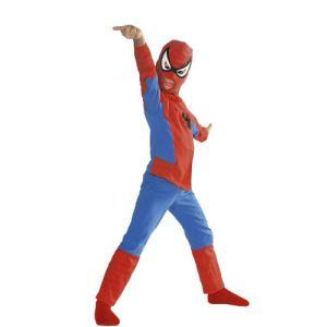 César Déguisement Spiderman Classique coton cintre (3 à 14 ans)
