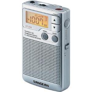 Sangean DT-250 - Radio portable stéréo avec fonction horloge