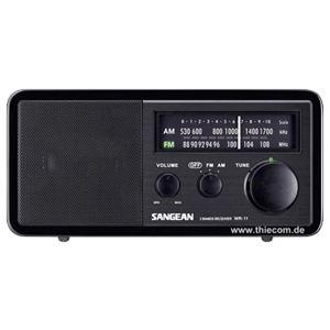 Sangean WR-11 - Poste radio analogique