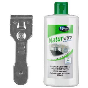 Wpro KVT200 - Kit nettoyant plaques vitrocéramiques