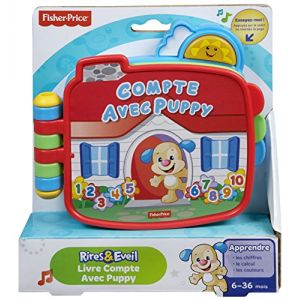 Fisher-Price Livre Compte avec Puppy