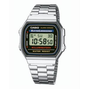Casio A168WA-1YES - Montre mixte Quartz Digitale