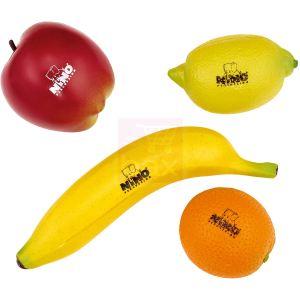 Nino Assortiment 4 shakers fruits en plastique